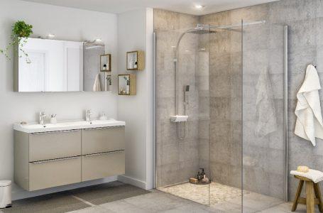 Cabine de duș din sticlă la comandă, pentru băi spațioase și elegante